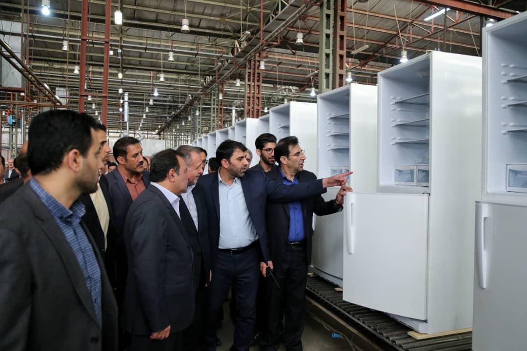ظرفیت تولید ۱۰هزار یخچال و ایجاد اشتغال مستقیم برای ۳۰۰نفر