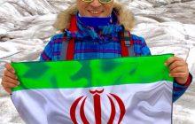 مدیر ماجراجو پرچم باشگاه پرسپولیس را به قطب شمال برد