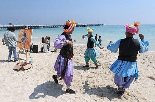 جزیره ی زیبای کیش ، پایتخت جشنواره های نوروز ایران